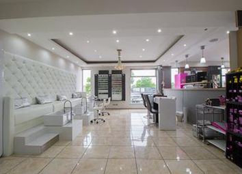 Thumbnail Retail premises to let in First Floor Nail Bar/Barbers, 1 Station Road, Urmston, Manchester