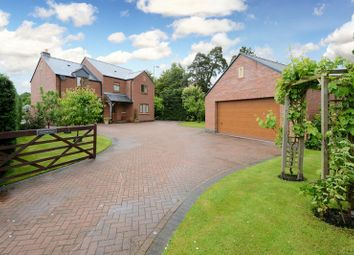 Thumbnail 4 bed detached house for sale in Newington, Craven Arms, Shropshire.