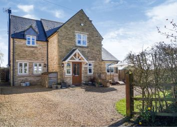 Thumbnail 4 bed detached house for sale in Minety Lane - Oaksey, Malmesbury