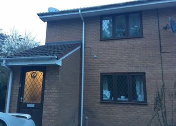 Thumbnail 2 bed flat to rent in All Saints Croft, Burton Upon Trent, Staffordshire