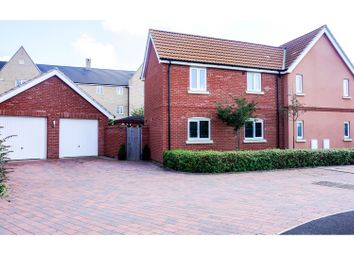 Thumbnail 4 bed detached house for sale in Daffodil Close, Eynesbury, St. Neots