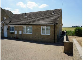 Thumbnail 2 bedroom semi-detached bungalow for sale in Murrow Bank, Wisbech