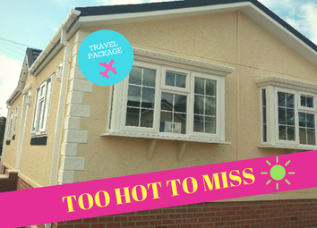 Thumbnail 2 bed mobile/park home for sale in Colliery Lane, Mancot, Deeside, Flintshire