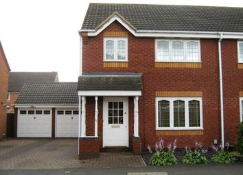 Thumbnail 3 bed semi-detached house to rent in The Furlongs, Market Harborough