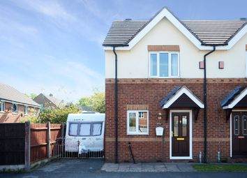 Thumbnail 2 bedroom town house for sale in Weston Court, Longton, Stoke-On-Trent