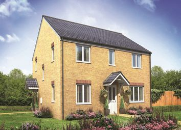 "Thumbnail 4 bed detached house for sale in ""The Chedworth Corner"" at Churchfields, Hethersett, Norwich"