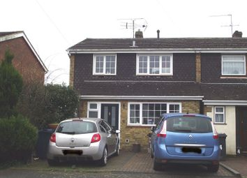 Thumbnail 3 bed end terrace house for sale in Fox Road, Holmer Green, High Wycombe
