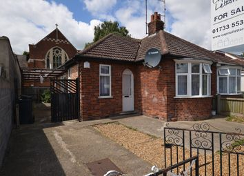 Thumbnail 1 bed semi-detached bungalow for sale in Summerfield Road, Peterborough