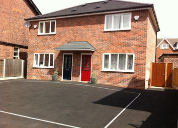 Thumbnail 2 bed semi-detached house to rent in Bulkeley Road, Handforth, Handforth, Wilmslow, Cheshire