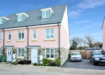 Thumbnail 3 bed end terrace house for sale in Wilson Close, Newquay
