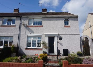 Thumbnail 3 bed semi-detached house for sale in Attlee Road, Blackwood, Caerphilly
