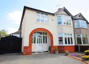 Thumbnail 4 bed semi-detached house for sale in Lynnbank Road, Calderstones, Liverpool