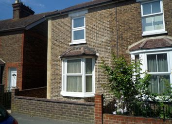 Thumbnail 2 bed semi-detached house to rent in Gladstone Road, Horsham