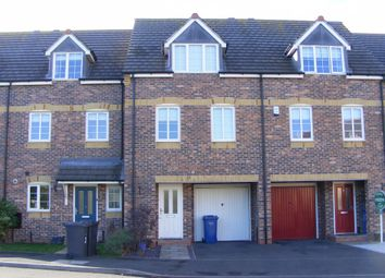 Thumbnail 3 bed town house to rent in Birchfield Close, Tamworth
