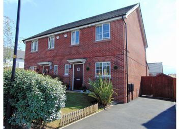 Thumbnail 3 bed semi-detached house for sale in Oak Close, Oldham