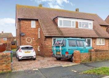 Thumbnail 3 bed semi-detached house for sale in Bodiam Close, Seaford