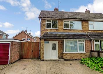 Thumbnail 3 bed semi-detached house for sale in Cooper Close, Huncote, Leicester, Leicestershire