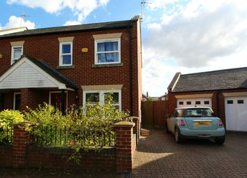 Thumbnail 2 bed semi-detached house for sale in Minster Court, Long Sutton, Spalding