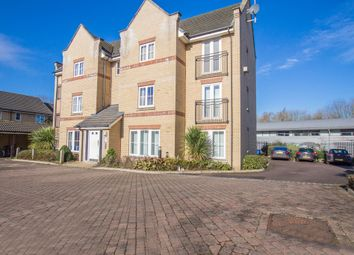 Thumbnail 2 bedroom flat for sale in Grebe Court, Cambridge