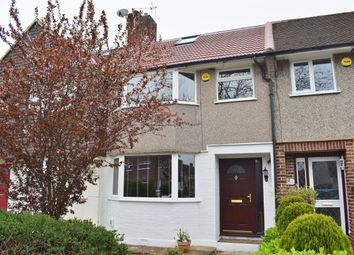 Thumbnail 4 bed terraced house for sale in Berwick Crescent, Sidcup, Kent