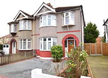 Thumbnail 3 bed semi-detached house for sale in Fairkytes Avenue, Hornchurch, Essex