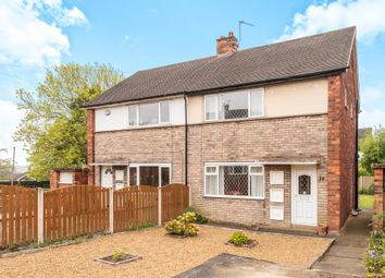Thumbnail 2 bed semi-detached house for sale in Rhodes Crescent, Pontefract
