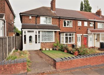 Thumbnail 2 bed end terrace house for sale in Elliston Avenue, Great Barr