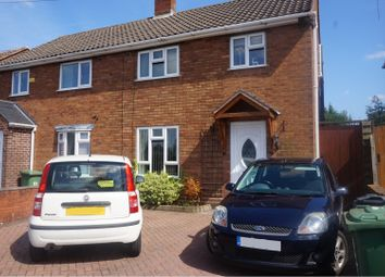 Thumbnail 2 bed semi-detached house to rent in Blakemore Road, Walsall