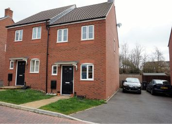 Thumbnail 2 bed semi-detached house for sale in Grove Gate, Taunton