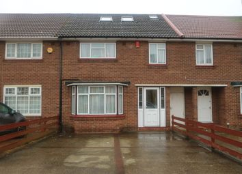 Thumbnail 4 bed terraced house to rent in Attlee Road, Hayes