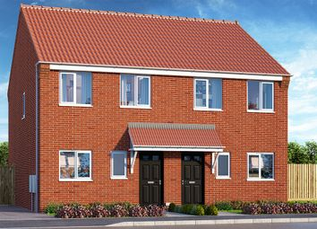 "Thumbnail 3 bed property for sale in ""The Cornflower"" at Brook Park East Road, Shirebrook, Mansfield"