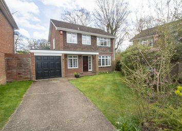 Thumbnail 4 bed detached house for sale in Beechwood Close, Church Crookham, Fleet