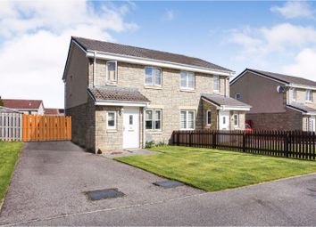 Thumbnail 3 bed semi-detached house for sale in Dellness Park, Inverness