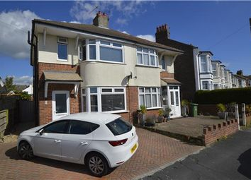 Thumbnail 3 bed semi-detached house for sale in Moscow Road, Hastings, East Sussex