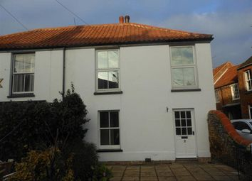 Thumbnail 2 bedroom semi-detached house to rent in Hall Road, Snettisham, King's Lynn