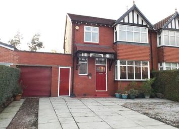 Thumbnail 3 bed semi-detached house for sale in Dialstone Lane, Great Moor, Stockport, Cheshire