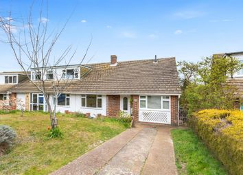 Thumbnail 3 bed semi-detached bungalow for sale in Eldred Avenue, Brighton
