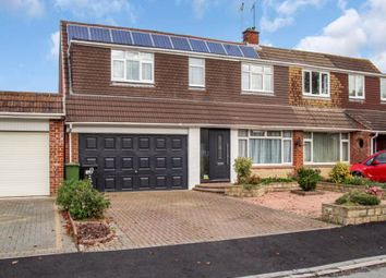 Thumbnail 4 bed semi-detached house for sale in Cheraton Close, Nythe, Swindon