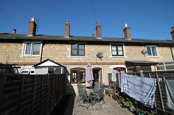 Thumbnail 2 bed terraced house to rent in Surrey Place, Trowbridge, Wiltshire