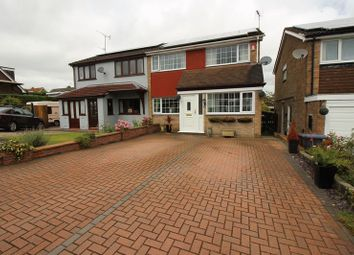 Thumbnail 3 bed semi-detached house for sale in Wetenhall Drive, Leek, Staffordshire