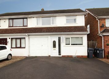 Thumbnail 3 bed semi-detached house for sale in Yardley Wood Road, Birmingham, West Midlands
