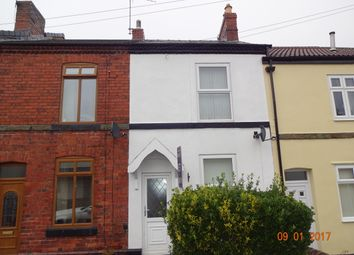 Thumbnail 2 bed terraced house to rent in Princess Road, Dronfield, Derbyshire