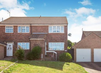 Thumbnail 2 bedroom semi-detached house for sale in Barn Close, Seaford