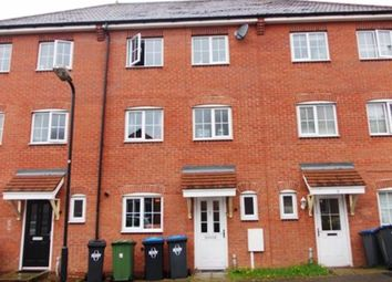 Thumbnail Terraced house to rent in Hidcote Close, Rugby