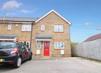 Thumbnail 3 bedroom end terrace house for sale in Burnet Close, Pinewood, Ipswich