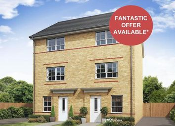 """Thumbnail 4 bed semi-detached house for sale in """"Haversham"""" at Holme Way, Gateford, Worksop"""