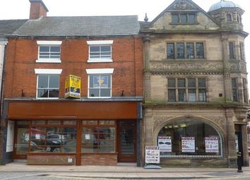 Thumbnail 2 bed flat to rent in Flat 2, 27 Market Place, Uttoxeter