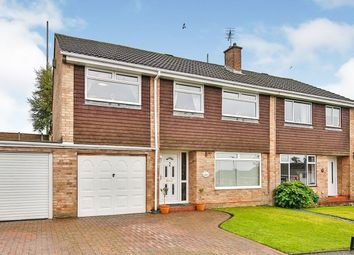 Thumbnail 4 bed semi-detached house for sale in Brackenridge, Burnopfield, Newcastle Upon Tyne
