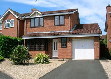 Thumbnail 3 bed detached house to rent in Suffolk Way, Tamworth
