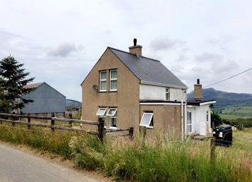 Thumbnail 3 bedroom detached house to rent in Rhydyclafdy, Pwllheli